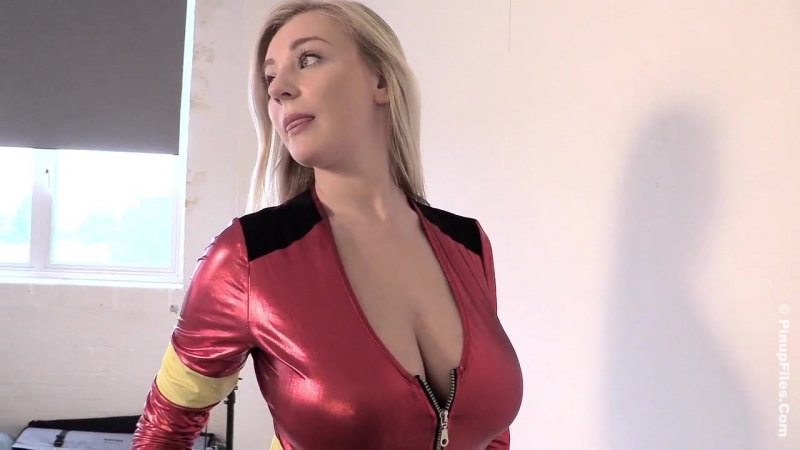 Beth Lily - Firewoman Halloween 1 [tits, boobs, ass, erotic, photosession]