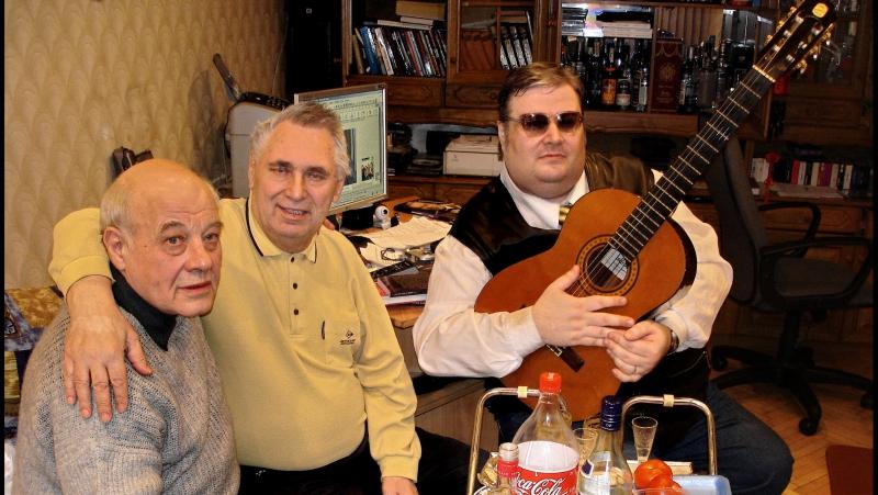 Александр Волокитин и Лев Орлов у Г.Сечкина - Аркадий Северный был гордый человек! (Съёмка 5.02.2008)