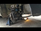 Daewoo Matiz (Деу Матиз) замена передних тормозных колодок