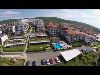 Aerial Hotels of St Vlas Burgas Bulgaria