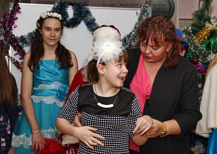 Рождественская Ёлка в школе №22 для особенных детей