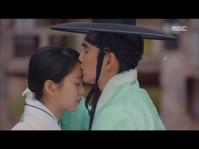 [Ruler] 군주 - 가면의주인 ep.07,08Seung-ho♥So-hyun,I will protect 'kiss my forehead'20170518
