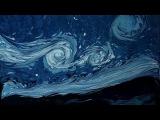 Турецкий художник Garip Ay рисует на воде картины Ван Гога