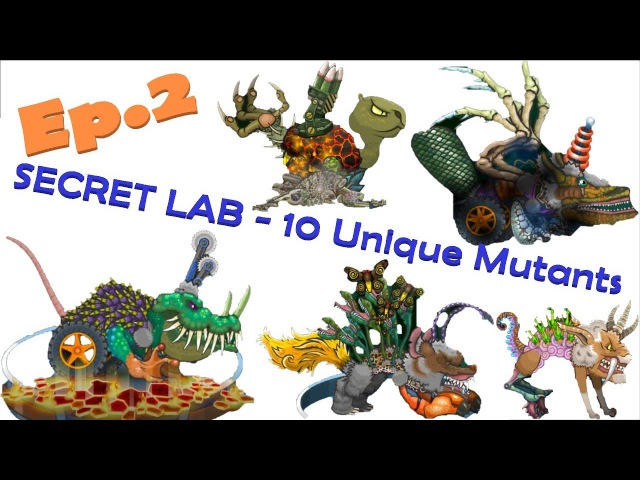 Mutant Fighting Cup 2 - SECRET LAB - 10 Unique Mutants Ep.2 (Part 195)