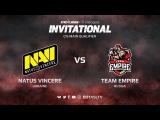 Natus Vincere против Team Empire, Третья карта, CIS квалификация SL i-League Invitational S3