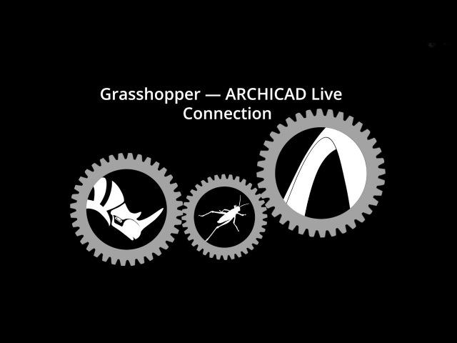 ArchiCAD - Rhinoceros - Grasshopper Conection plugin. Установка и начало работы