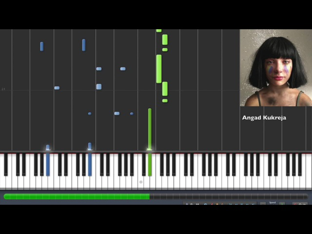 Sia - The Greatest Piano Tutorial By Angad Kukreja