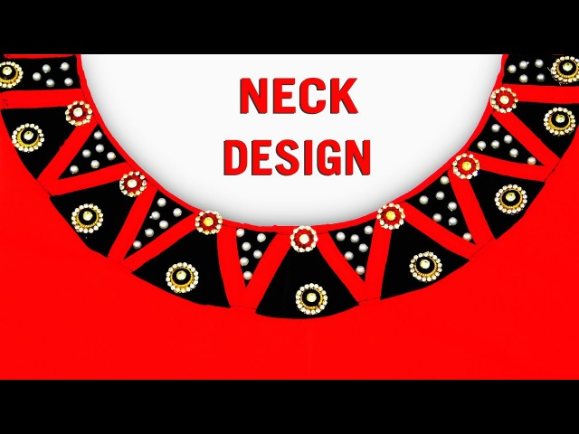 Latest Neck Designs for Kameez | Kurti Neck Designs using Kundan