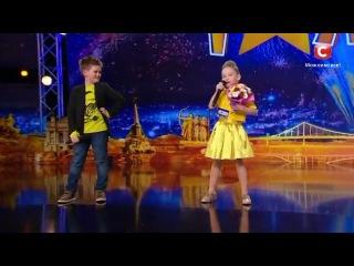 Василь и София - Поют песню DZIDZIO - Сама-сама на