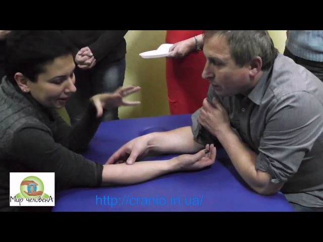 Послойная пальпация в краниосакральной терапии