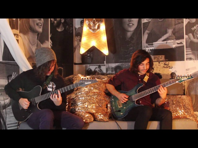 Ibanez Prestige Mario and Erick from CHON play Story