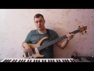 Импровизация на бас гитаре #3 Дорийский лад. Простое построение соло.