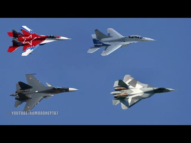 Russian Air Power Part 2: Multirole Combat Aircraft - MiG-29, MiG-35, Su-30, Sukhoi PAK FA T-50