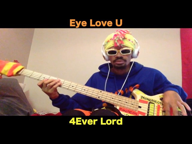 MonoNeon: I LOVE U FOREVER LORD (remix by T-AARONmusic)