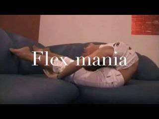 Gymnastic Stretch For Flexibility , Flex contortion Flexilady model flex-mania