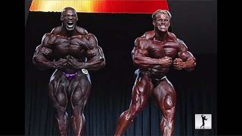 Ronnie coleman vs Jay Cutler Best Ever Posing (MR.OLYMPIA 2005)