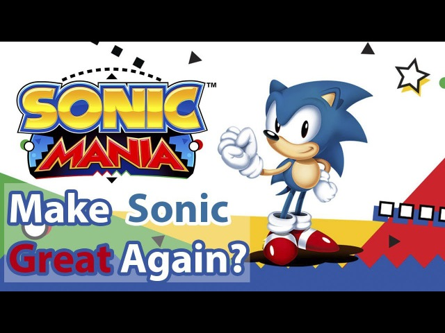 Sonic Mania (Switch/PS4/XBOX ONE) - Обзор