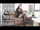 Wolford Shopping Haul - Strumpfhosen Haul - Try on Haul Video - Wolford Leder Leggings, Wollkleid