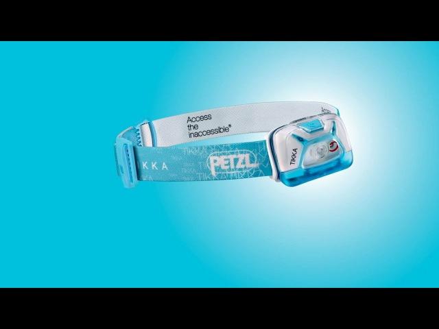 Компактный налобный фонарь PETZL TIKKA для ближнего света и передвижений 200 люмен