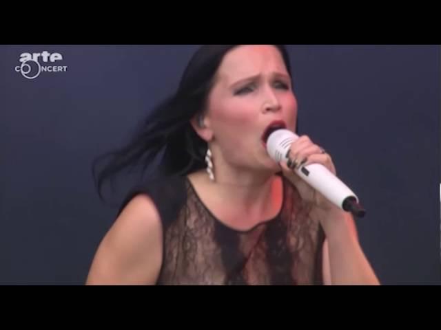 Tarja Turunen medley -Tutankhamen - Ever Dream - The Riddler - Slaying The Dreamer Hell fest 2016