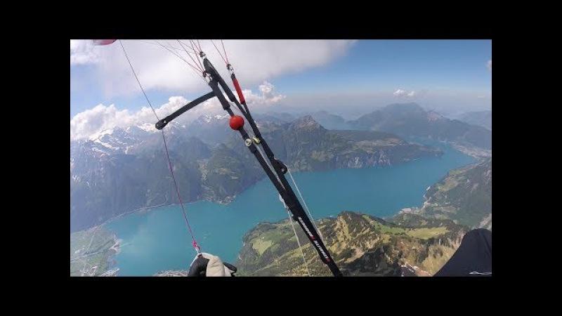 Paraglide XC Engelberg - Fanas