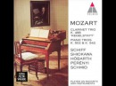 Mozart. Clarinet trio Kegelstatt. KV 498. Played on Mozart's own instruments.