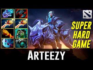 Arteezy Luna [Super Hard Game] Dota 2