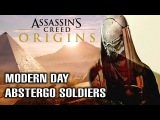 Assassin's Creed Origins - *FIRST LOOK* at Modern Day Abstergo Soldiers in Egypt?! [EXCLUSIVE]