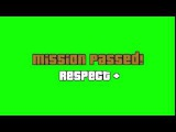 GTA SA Mission Passed Green Screen + Download