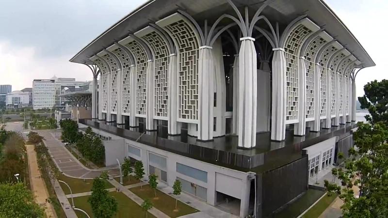 Мечети мира. HD Туанку Мизан Зайнал Абидин