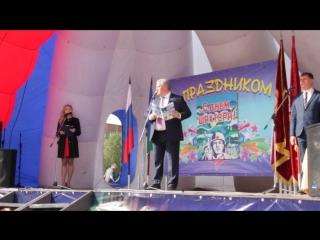 Говорит и Показывает Инта - Глава Коми С. Гапликов поздравляет интинских шахтёров