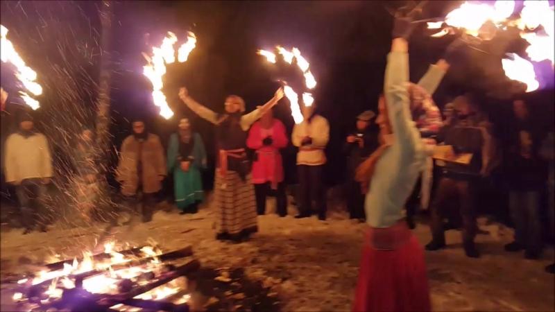 Огненное представление. Корочун 2016.