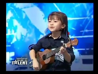 The Show By Gail Sophicha 6 years old Thailand's Got Talent (1 July 2012)