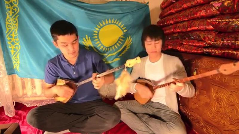 Гимн Казахстана на Домбре (Kazakhstan National Anthem) [Қазақстан әнұраны]