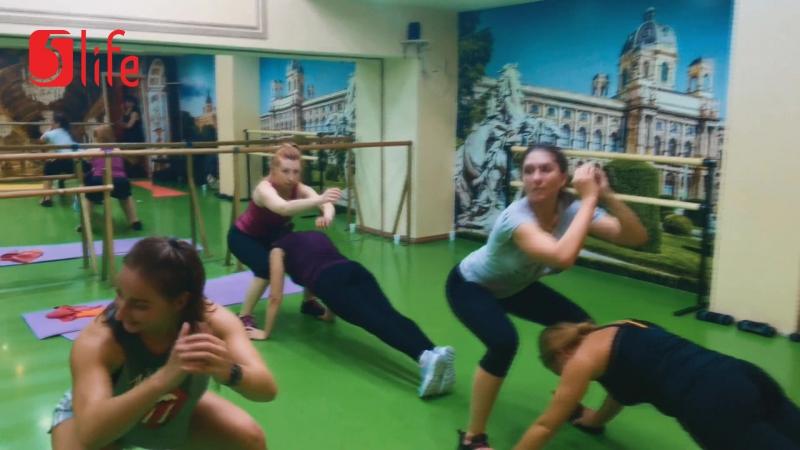 Фитнес Микс с Бабышкиной Машей в школе танцев 5Life