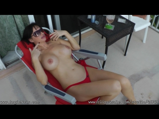 Angie Noir in My Son Saw Me Nude Sunbathing and Got Hard