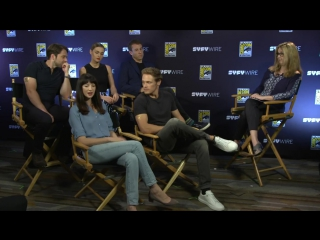 Outlander Cast Answers Fan Questions _ San Diego Comic-Con 2017 _ SYFY WIRE