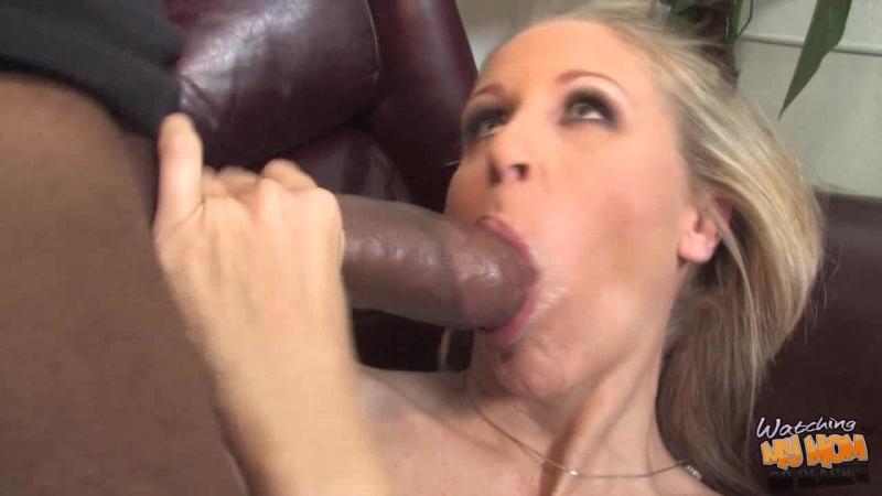 [WatchingMyMomGoBlack] Julia Ann [HD 720, Big Tits, Black, Blonde, Blowjob, Cuckold, Cumshot, Interracial, MILF, Sex, Whore]