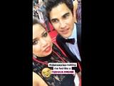 Playbill's Instagram Story: Darren Criss is Here