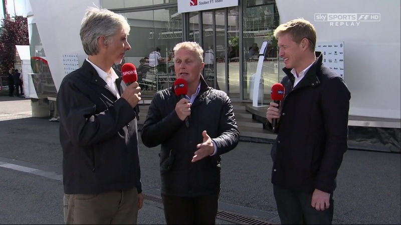 Гран-при Бельгии 2012. Post-Qualifying [Sky Sports]