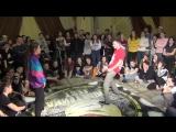 64)Тюбетейка 7 Хип-хоп Про - Мадина и Дима Левел Ап 29.01.2017 (Набережные Челны)