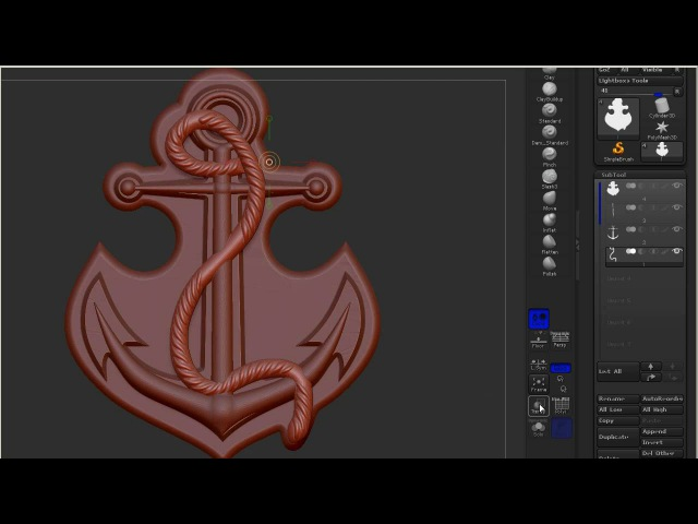 ZBrush Import SubTool from ArtCam
