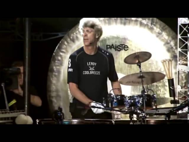 The Police - Wrapped Around Your Finger (video of Stewart Copeland)