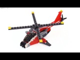 LEGO Creator 3-in-1 Air Blazer review!  31057