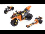 LEGO Creator 3-in-1 Sunset Street Bike review! 31059