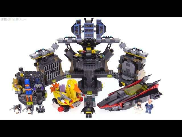 LEGO Batman Movie Batcave Break-In review! 70909