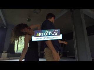 Alex & Ksenia Paska-Salazkini / Zouk Improvisation 2016 [Art of Play]