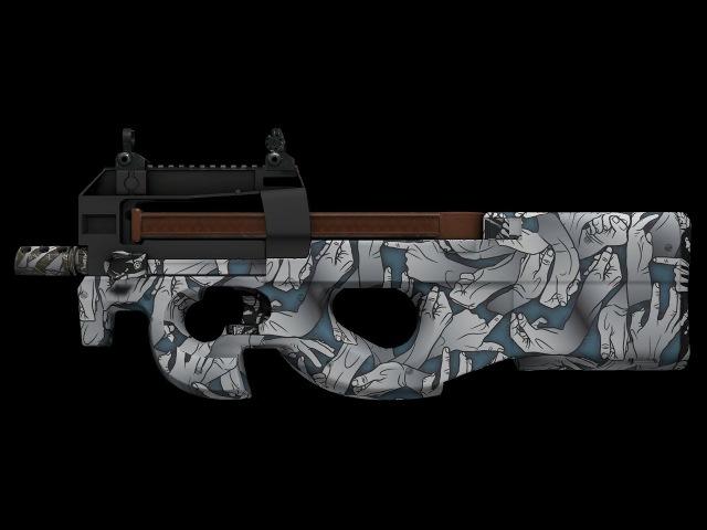 Cs go model Р90 Death Grip for cs 1 6