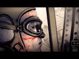Анимация   бои двух самолетов напоминает War Thunder