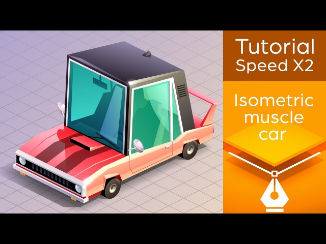 Isometric Muscle Car